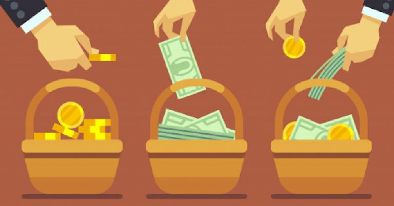 Money Baskets