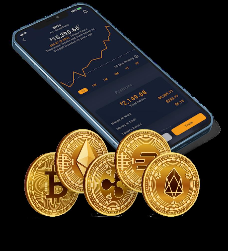 Crypto Coins Transparent@3x