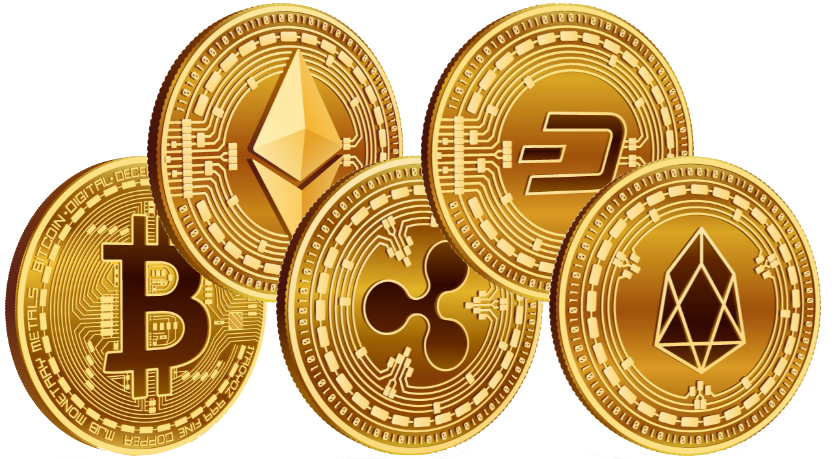 Crypto Coins Without Shadow@3x